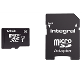 GEHEUGENKAART INTEGRAL MICRO SDXC 128GB CL10