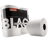 TOILETPAPIER SATINO BLACK 2-LAAGS 400V WIT