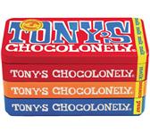 TONY'S CHOCOLONELY PUUR-MELK-KARAMEL ZEEZOUT 180GR
