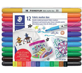 VILTSTIFT STAEDTLER 3190 TEXTIEL DUO ASS