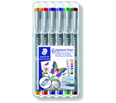 FINELINER STAEDTLER PIGMENT 308 0.3MM ASS