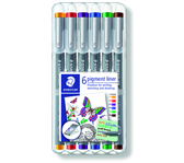 FINELINER STAEDTLER PIGMENT 308 0.5MM ASS