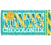 TONY'S CHOCOLONELY WIT STRACIATELLA 180GR