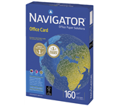 KOPIEERPAPIER NAVIGATOR OFFICE CARD A3 160GR WIT