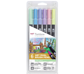 BRUSHSTIFT TOMBOW ABT DUAL PASTEL ASS