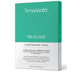 SAFESCAN TIMEMOTO TM-CLOUD 25 USER SUBSCRIBTION