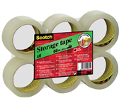 VERPAKKINGSTAPE 3M SCOTCH S5066F6T 50MMX66M TRANSPARANT