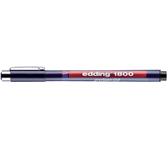 FINELINER EDDING 1800 0.35MM ZWART