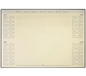 ONDERLEGBLOK 2020 DESKMATE MET PVC HOUDER 412X590