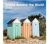 KALENDER 2019 TENEUES TOILETS AROUND WORLD 30X30CM