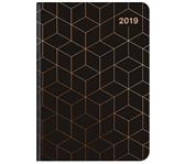 AGENDA 2019 TENEUES MIDI FLEXI GLAMLINE 12X17 ZW/KO