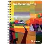 AGENDA 2019 TENEUES TON SCHULTEN 16.5X21.6CM