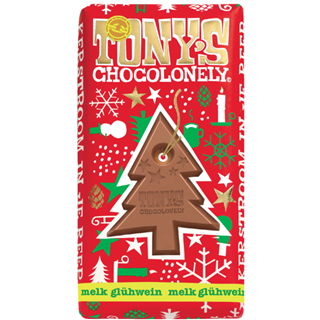 TONY'S CHOCOLONELY MELK GLUHWEIN 180GR