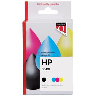 INKCARTRIDGE QUANTORE HP 304XL HC ZWART KLEUR