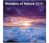 KALENDER 2019 TENEUES WONDERS OF NATURE 30X30CM
