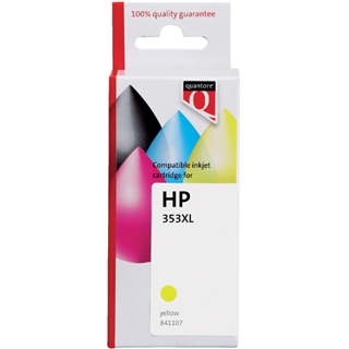 INKCARTRIDGE QUANTORE HP 953XL F6U18AE HC GEEL