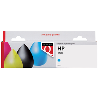 INKCARTRIDGE QUANTORE HP 973X F6T81AE BLAUW