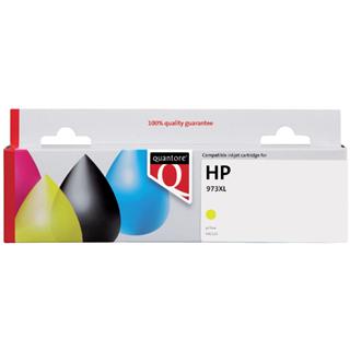 INKCARTRIDGE QUANTORE HP 973X F6T83AE GEEL