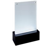 TAFELSTANDAARD SIGEL LED DIN A6 116X195X45