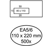 ENVELOP QUANTORE VENSTER EA5/6 VL45 ZK 80GR WIT