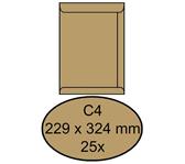 ENVELOP CLEVEMAIL AKTE C4 229X324 80GR 25ST BRUIN