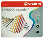 KLEURPOTLOOD STABILO AQUACOLOR IN BLIK