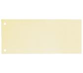 SCHEIDINGSSTROOK OXFORD 2R 105X240MM 190GR GEEL