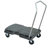 TRIPLE TROLLEY RUBBERMAID ZWART 82.6X52CM