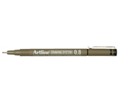 FINELINER ARTLINE 0.8MM ZWART