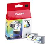 INKCARTRIDGE CANON BCI-15 2X KLEUR