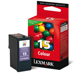 INKCARTRIDGE LEXMARK 15 18C2110E PREBATE KLEUR