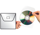 CD HOES 3L 6832-10 127X127MM MET KLEP ZELFKLEVEND