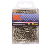 PAPERCLIP OIC 26MM ZILVER