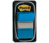 INDEXTABS 3M POST-IT 6802 25MM BLAUW