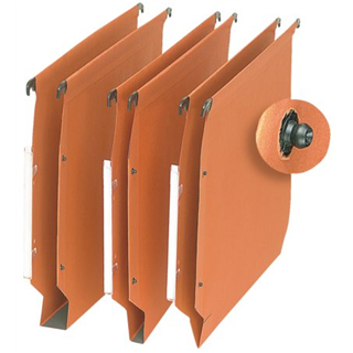 HANGMAP OBLIQUE AZV MARK3 LAT ECO A4 U 30MM ORANJE