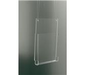 FOLDERHOUDER OPUS2 A5 STAAND HANGEND GLASHELDER